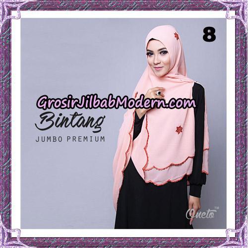 Jilbab Cantik Khimar Bintang Jumbo Premium Original By Oneto Hijab Brand No 8