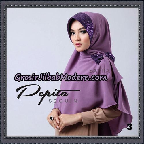 Jilbab Cantik Pepita Sequin Original By Sayra Hijab Brand No 3