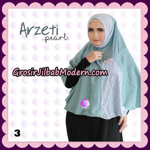 Jilbab Instant Arzeti Pearl Original By Apple Hijab Brand No 3