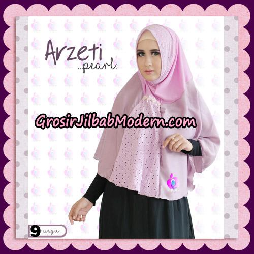 Jilbab Instant Arzeti Pearl Original By Apple Hijab Brand No 9