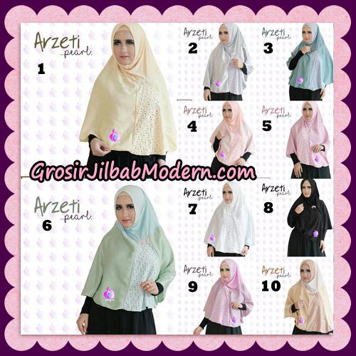Jilbab Instant Arzeti Pearl Original By Apple Hijab Brand