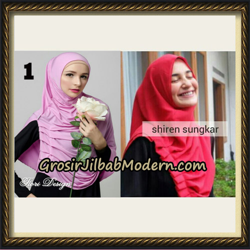 Jilbab Instant Cantik Syria Alla Original by Fiori Design No 1