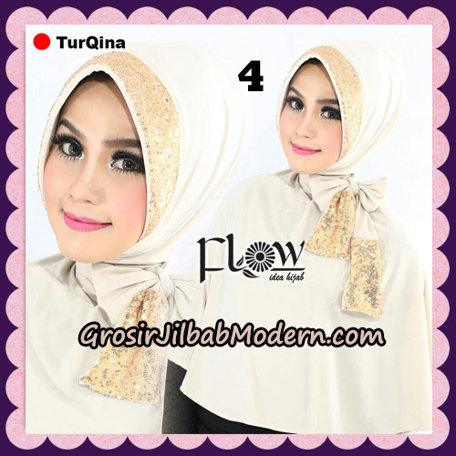 Jilbab Instant Cantik TurQina Original By Flow Idea No 4
