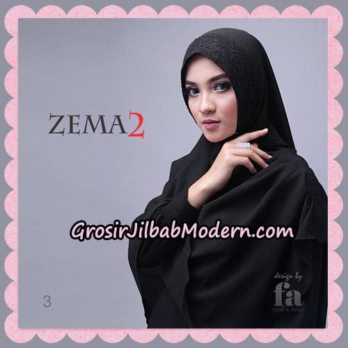 Jilbab Instant Khimar Zema Seri 2 By Fa Hijab Brand No 3