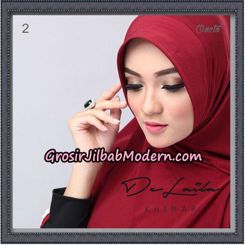 Jilbab Khimar DeLaila Original By Oneto Hijab Brand No 2