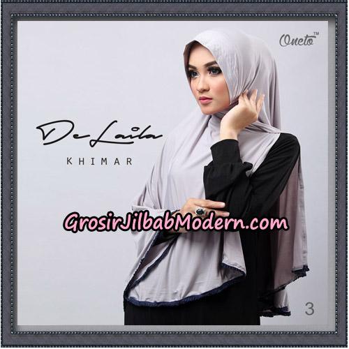 Jilbab Khimar DeLaila Original By Oneto Hijab Brand No 3