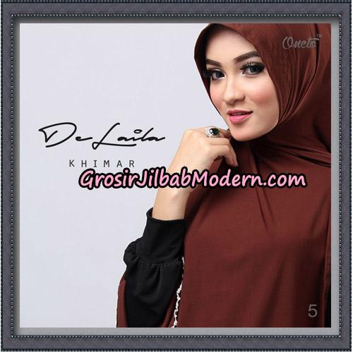 Jilbab Khimar DeLaila Original By Oneto Hijab Brand No 5