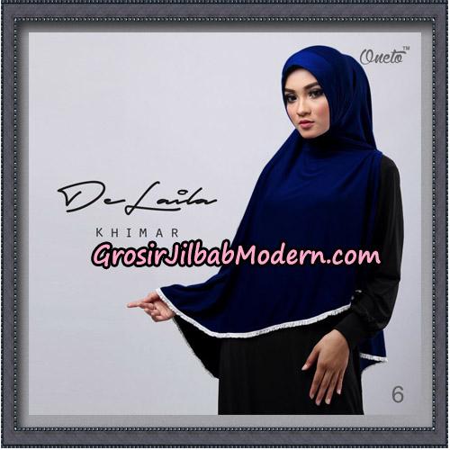 Jilbab Khimar DeLaila Original By Oneto Hijab Brand No 6