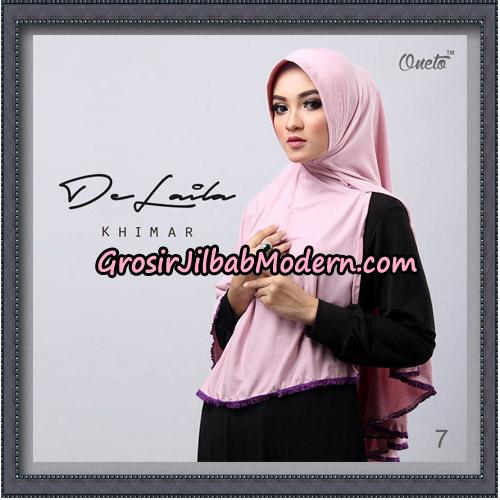 Jilbab Khimar DeLaila Original By Oneto Hijab Brand No 7