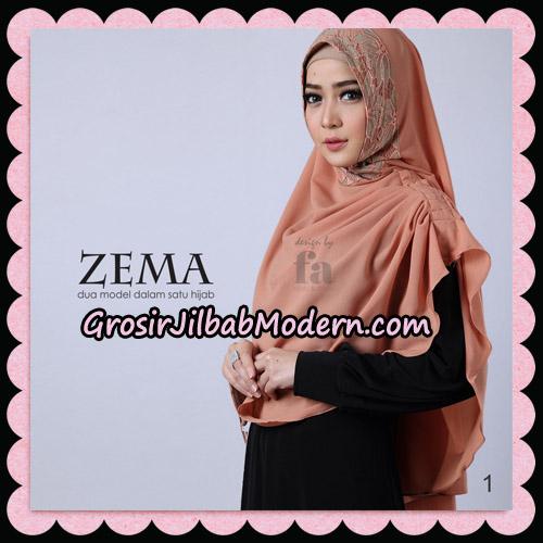 Jilbab Khimar Zema By Fa Hijab Support Oneto Hijab No 1
