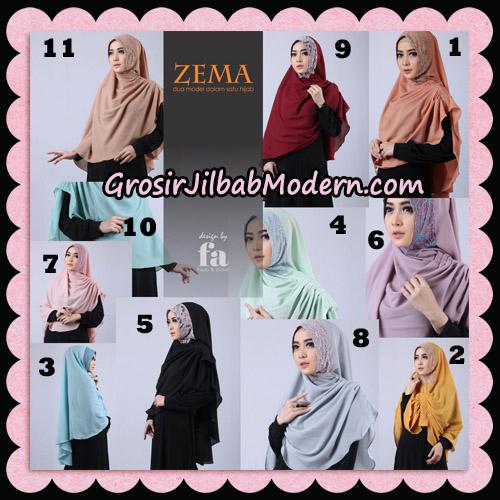 Jilbab Khimar Zema By Fa Hijab Support Oneto Hijab