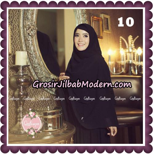 Jilbab Syari Modern Khimar Uzma Original by Qalisya Hijab Brand No 10