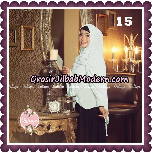 Jilbab Syari Modern Khimar Uzma Original by Qalisya Hijab Brand No 15