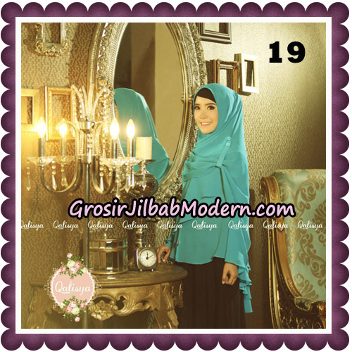 Jilbab Syari Modern Khimar Uzma Original by Qalisya Hijab Brand No 19