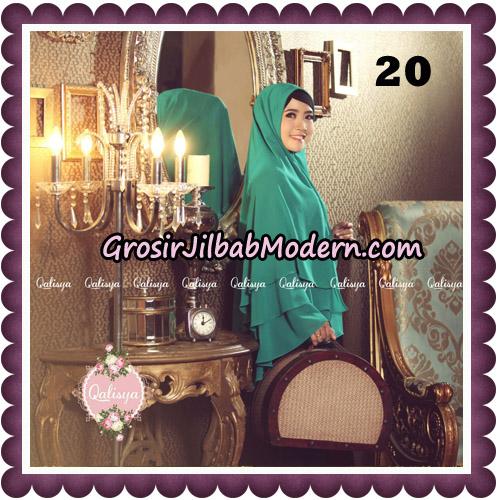 Jilbab Syari Modern Khimar Uzma Original by Qalisya Hijab Brand No 20