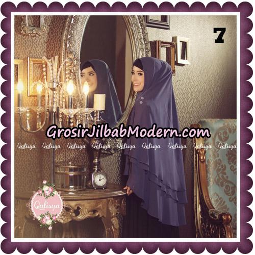Jilbab Syari Modern Khimar Uzma Original by Qalisya Hijab Brand No 7