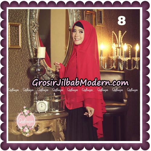 Jilbab Syari Modern Khimar Uzma Original by Qalisya Hijab Brand No 8