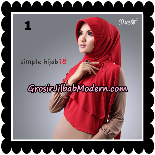 Jilbab Bergo Simple Hijab Seri 18 By Firza Hijab Support Oneto No 1