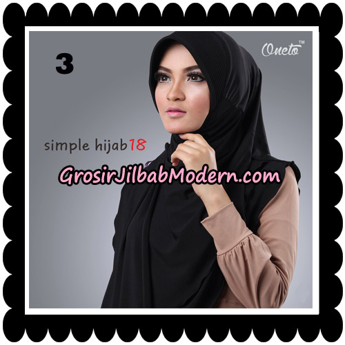 Jilbab Bergo Simple Hijab Seri 18 By Firza Hijab Support Oneto No 3