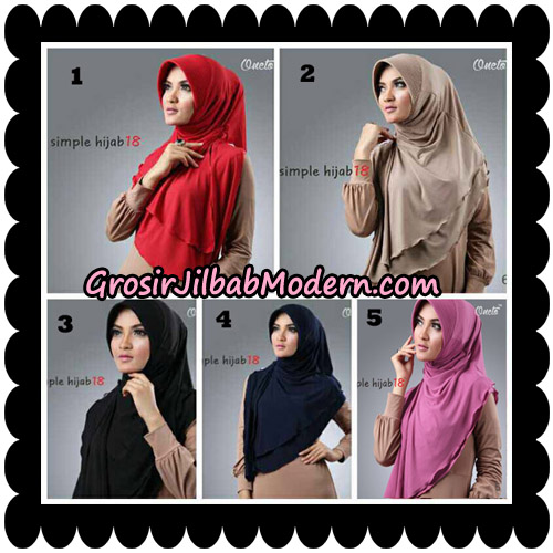 Jilbab Bergo Simple Hijab Seri 18 By Firza Hijab Support Oneto