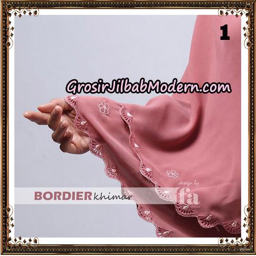 Jilbab Cantik Bordier Khimar Original By Fa Hijab Brand No 1