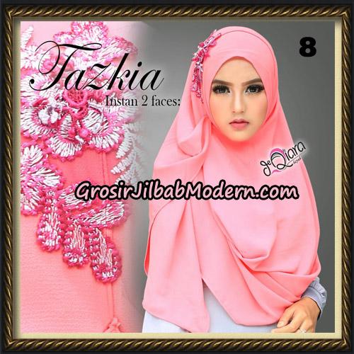 Jilbab Cantik Instan 2 Face Tazkia Original By dQiara Hijab Brand No 8