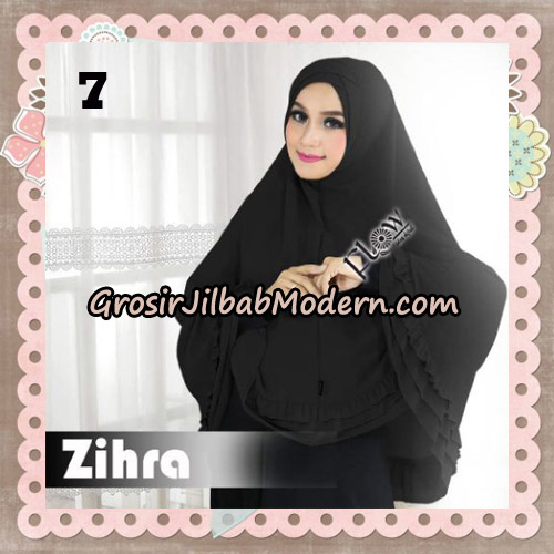 Jilbab Cantik Khimar Silang Zihra Original By Flow Idea NO 7