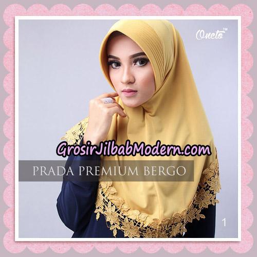 Jilbab Cantik Prada Premium Bergo Original By Oneto Hijab Brand No 1