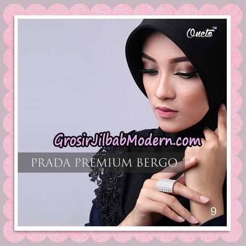 Jilbab Cantik Prada Premium Bergo Original By Oneto Hijab Brand No 9