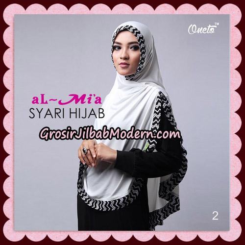 Jilbab Cantik Syari Hijab Original By AlMia Brand No 2