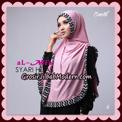 Jilbab Cantik Syari Hijab Original By AlMia Brand No 4