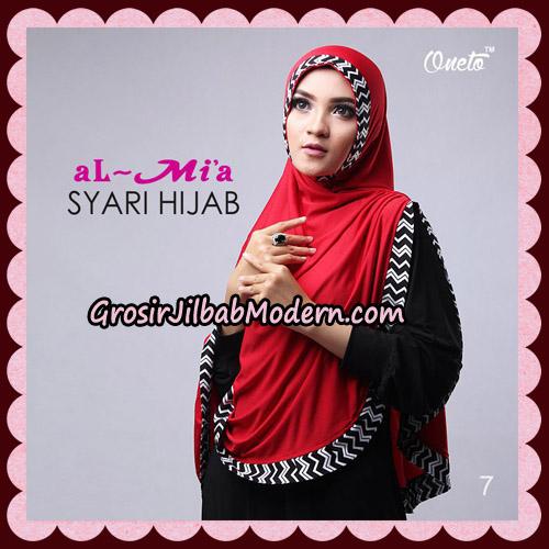 Jilbab Cantik Syari Hijab Original By AlMia Brand No 7