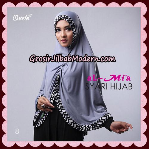 Jilbab Cantik Syari Hijab Original By AlMia Brand No 8