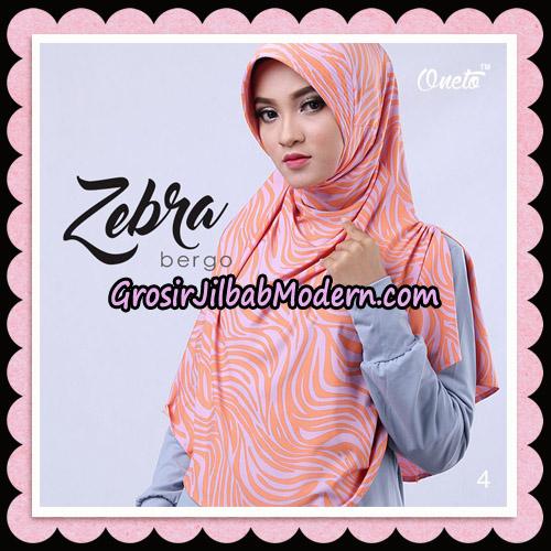 Jilbab Harian Zebra Bergo Original By Oneto Hijab Brand NO 4