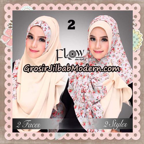 Jilbab Instant 2 Face & 2 Styles Flowly Original By Flow Idea No 2