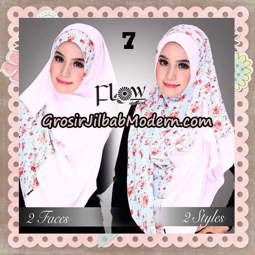 Jilbab Instant 2 Face & 2 Styles Flowly Original By Flow Idea No 7