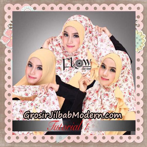 Jilbab Instant 2 Face & 2 Styles Flowly Original By Flow Idea - TUTORIAL 1