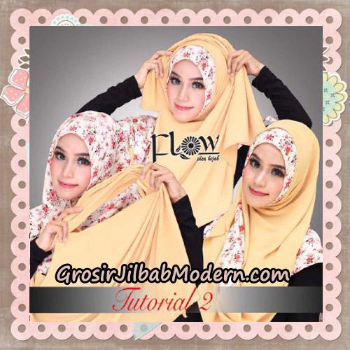 Jilbab Instant 2 Face & 2 Styles Flowly Original By Flow Idea - TUTORIAL 2