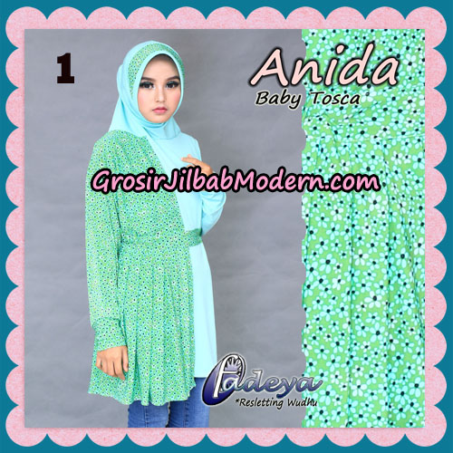 Jilbab Lengan Cantik Tunik Anida Original By Fadeya Brand No 1