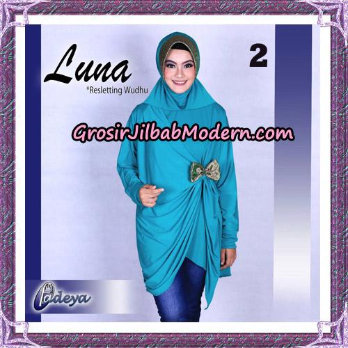 Jilbab Lengan Tunik Luna Original By Fadeya Brand No 2