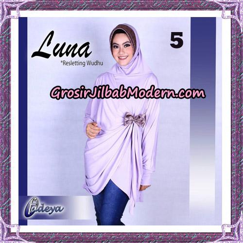Jilbab Lengan Tunik Luna Original By Fadeya Brand No 5