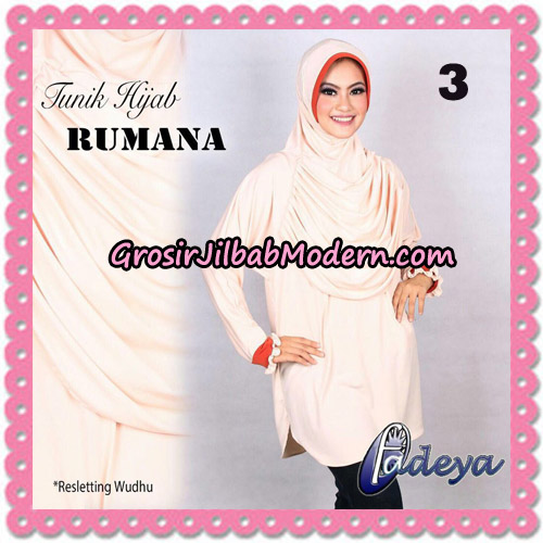 Jilbab Lengan Tunik Rumana Original By Fadeya Brand No 3