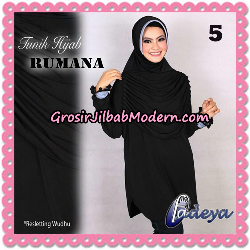 Jilbab Lengan Tunik Rumana Original By Fadeya Brand No 5