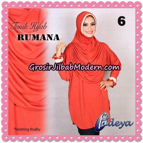 Jilbab Lengan Tunik Rumana Original By Fadeya Brand No 6