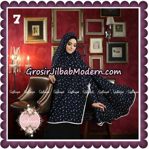 Jilbab Syari Modern Khimar Mymo - Mysha Motif Original by Qalisya Hijab Brand No 7