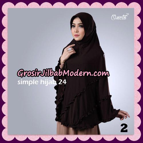 Jilbab Bergo Simple Hijab Seri 24 Original By Firza Hijab Brand No 2