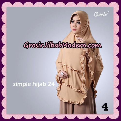 Jilbab Bergo Simple Hijab Seri 24 Original By Firza Hijab Brand No 4