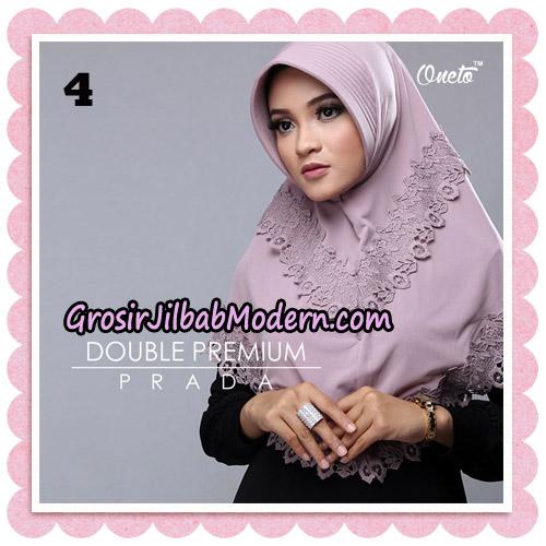 Jilbab Cantik Double Premium Prada Bergo Original By Oneto Hijab Brand No 4