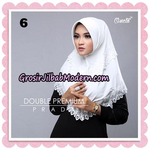 Jilbab Cantik Double Premium Prada Bergo Original By Oneto Hijab Brand No 6