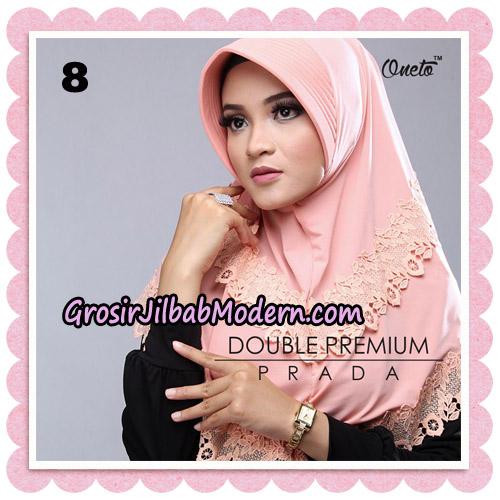 Jilbab Cantik Double Premium Prada Bergo Original By Oneto Hijab Brand No 8